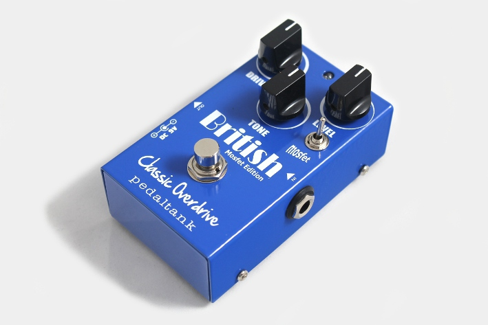 boutique handwired pedaltank british classic overdrive guitar effects pedal ebay. Black Bedroom Furniture Sets. Home Design Ideas