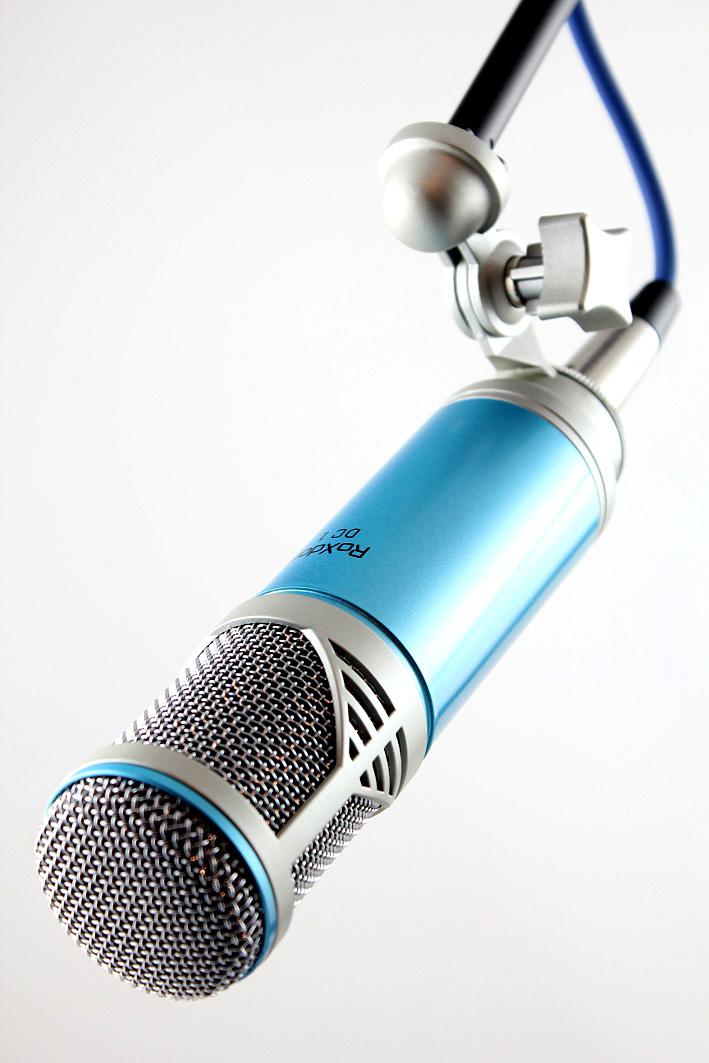 roxdon dc1 large diaphragm dynamic studio microphone aluminium case lead. Black Bedroom Furniture Sets. Home Design Ideas